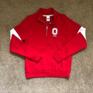 PINK The Ohio State University quarter zip